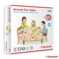 AROUND THE TABLE - con velcro