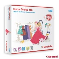 GIRLS DRESS UP - con velcro