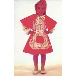 Disfraz Caperucita (3 a 5 años)