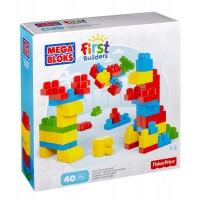 Mattel - Mega Bloks Maxi Bloks 40 Piece Value Bag