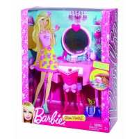 Mattel - Barbie Glam Vanity Furniture Set