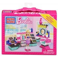 Mega Bloks - Barbie Build n Play Tienda de cosméticos