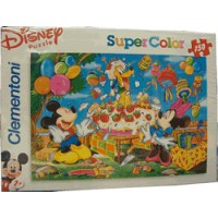 Disney Puzzle Supercolor Clementoni