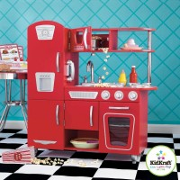 * Vintage Kitchen - Red