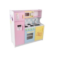 * Large Pastel Kitchen
