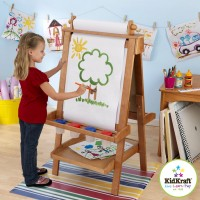 Deluxe Wooden Easel - Honey