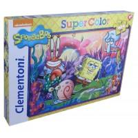 Rompecabezas Supercolor de Bob Esponja