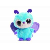 YooHoo & Friends - Peluche con ojos brillantes Wispee Butterfly, 13 cm