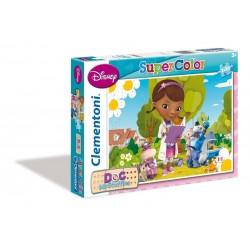 Doctora de juguetes puzzle 2 x 20 piezas