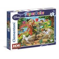Puzzle 101 Dálmatas de 60 piezas