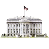 CubicFun 3D Puzzle C-Serie Casa Blanca - Washington D.C.