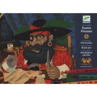 Rotuladores-pincel Piratas