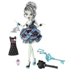 Monster High Muñecas 1600 Cumplespantos: Frankie Stein (W9188)