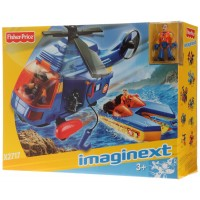 Imaginext Pack Vehículos Rescate Marino