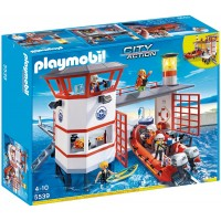 Playmobil City Action Guardacostas - Estación con faro (5539)