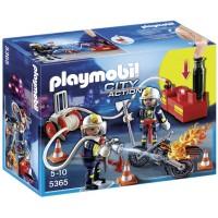 Playmobil City Action Bomberos con bomba de agua (5365)