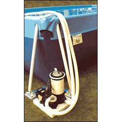 Depurador a cartucho con mangueras 4.500 l/h
