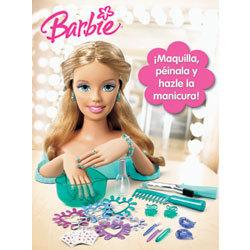 Barbie Peina y Maquilla con Manos