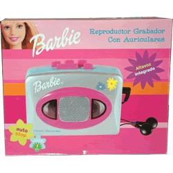 Barbie Reproductor Grabador con Auriculares