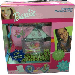 Barbie Máquina de Escribir